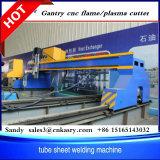 Perfil de Folha de tipo Gantry Plasma CNC e máquina de corte cônica de chamas