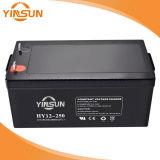 AGM 12V250ahの再充電可能な鉛太陽系のための酸UPS電池