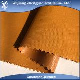 Tela impermeable 100% de la chaqueta del estiramiento del Dobby del poliester con la laminación de PU/TPU