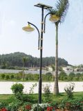 屋外LEDの中庭の庭の景色のヤードのための太陽街路照明