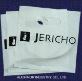 Punho cortado Bag&#160 da compra da baixa densidade dos sacos de plástico mercadoria colorida;