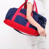 Sacchetto dei bagagli di corsa del Duffle della spalla di sport della tela di canapa del sacchetto di viaggio