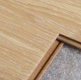 Plancher en bois en stratifié gravé en relief par décoration à la maison jaune pour d'intérieur