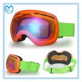 Volwassen Ultraviolet Frameless de Beschermende brillen van Snowboard van het Schuim van Drie Lagen