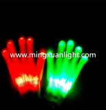 춤 쇼 다채로운 LED 점화 번쩍이는 장갑