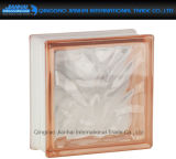 De beste Prijs kleurde Baksteen van het Glas van het Blok de Duidelijke voor Decoratie