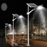 O LED de energia solar integrada semi-Sistema de Iluminação de Rua 15-30W
