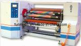 Papel de aluminio/capa de aluminio, máquina auto el rebobinar del eje doble de BOPP/OPP/PVC/PE