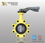 Ansatz Type Butterfly Valve mit Wrench Operation