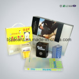 향수 포장을%s 환상적인 UV 인쇄 PVC 플라스틱 상자