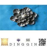 O ferro forjado em aço fundido decorativas Flores de metal para o Artesanato