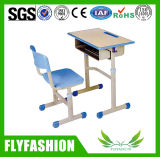 책상 (SF-20S)를 가진 플라스틱 가장자리 교실 가구 학교 의자