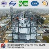 Edificio residenziale della costruzione veloce fatto della struttura d'acciaio