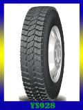 El neumático 295/75r22.5 de la marca de fábrica de Doupro vende al por mayor el neumático semicomercial del carro