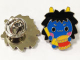 Distintivo su ordinazione di Pin del supereroe del mestiere del metallo con il marchio del fumetto