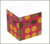 Bloque del papel Nota Memo Cubo Cubo