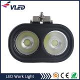 80W LED luces de trabajo Modifiled redondo lámpara auxiliar de ingeniería de mantenimiento Spotlight
