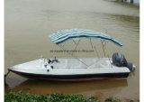 Aqualand 19feet bateau de sauvetage en fibre de verre / bateau à moteur (190)