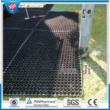 Het Matwerk van de Vloer van de Veiligheid van de tuin, Mat van het Gras van 22mm de Op zwaar werk berekende, Antislip RubberMat