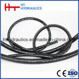 Renforcé en caoutchouc de haute pression le flexible hydraulique avec Eaton standard