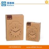 Caixa de empacotamento de papel Kraft com dobrável e personalizada para relógio