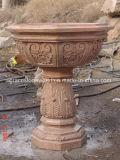 Plantador de pedra do jardim para a decoração