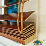 L'usine fournissent directement les abat-jour de rouleau en bois de Curtrain de guichet