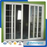 Дверь PVC изоляции жары нутряная с двойным стеклом