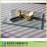 ケイ素のフィートのブランクガラスのボードを持つ明確な透過ガラスまな板