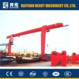 10 Tonnen-anhebender Kapazitäts-beweglicher einzelner Träger-Portalkran