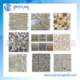 Manuale o Electric Chopping Granite e Marble Stone Tile Mosaic Machine
