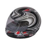 ABS van de Delen van de motorfiets de Materiële Volledige Helm van het Gezicht