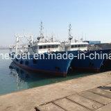 schip van de Treiler van de Visserij van de Diepvriezer van het Staal van de Helling van 48m het Professionele Commerciële Strenge
