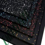 RubberVloer van de Mat van de Tegel van de Bevloering van de Fabrikant van China de Rubber Rubber Rubber voor de Gymnastiek van de Geschiktheid