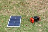 Sistema leve de armazenamento de energia solar leve com painel solar 50W