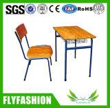 precio de fábrica utiliza Estudiante solo escritorio y silla (SF-82S)