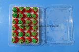 Коробка волдыря Clamshells контейнера пластичного плодоовощ упаковывая упаковывая на клубника УПРАВЛЕНИЕ ПО САНИТАРНОМУ НАДЗОРУ ЗА КАЧЕСТВОМ ПИЩЕВЫХ ПРОДУКТОВ И МЕДИКАМЕНТОВ 500 грамм одобрила