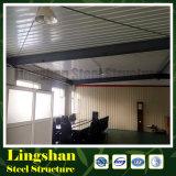 Lingshan billig vor fabriziertes Stahlbürohaus (LS-SS-601)