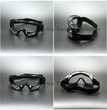 Occhiali di protezione di sicurezza di approvazione del Ce En166 sopra i vetri (SG142)