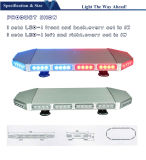 Police Car Ambulance를 위한 빨간 Blue LED Mini Light Bar