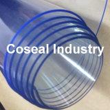 Het blauwachtige Plastic Blad van pvc met Vrij DOP