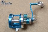 Bobine de pêche à la main en aluminium de haute qualité CNC