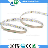 CRI90 9.6W 24V/M SMD3528 CCT Strip Light LED réglable