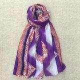卸し売り綿のPashminaのショールのデジタルプリント習慣のスカーフ