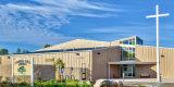 Vorfabriziertes Stahlkonstruktion-industrielles Kirche-Gebäude (KXD-SSW33)