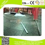 Estera de goma del suelo del centro de aptitud de la gimnasia durable del precio bajo