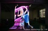 Visualización video para la demostración viva, DJ, Peformance de Galaxias P12 LED
