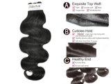 100% натуральные бразильского Virgin человеческого волоса на заводская цена с SGS утверждения