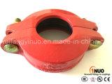 Acoplamiento reductor flexible acanalado de hierro dúctil de FM / UL / Ce