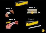 Papel de balanceo que fuma gigante con extremidades de filtro (con los orificios)